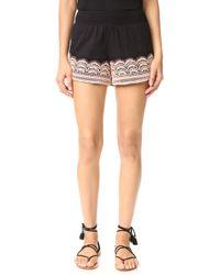 Chloe Oliver - Brazillian Night Smocked Shorts - Lyst