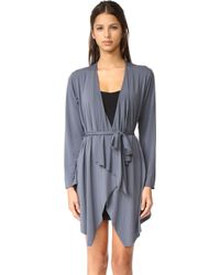 Commando | Butter Lounge Cardigan Robe | Lyst
