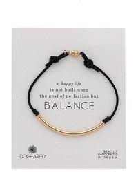Dogeared - Balance Tube Bracelet - Lyst