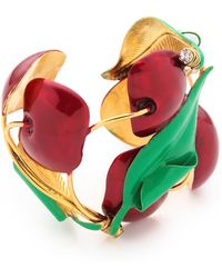Erickson Beamon - Cherry Pie Cuff Bracelet - Lyst