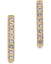 Elizabeth and James - Braque Bar Stud Earrings - Lyst