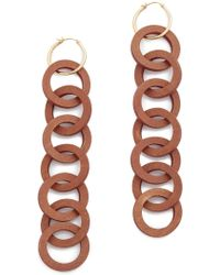 Elizabeth and James - Isla Hoop Earrings - Lyst