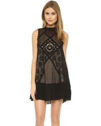 Free People - Angel Lace Dress - Lyst