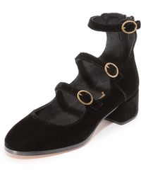 Free People - Mercury Mary Jane Court Shoes - Lyst
