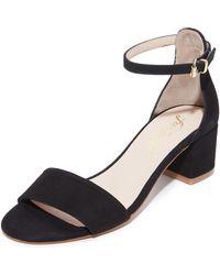 Free People - Marigold Block Heel Sandals - Lyst