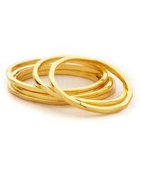 Gorjana - Mixed Size Simple Ring Set - Lyst
