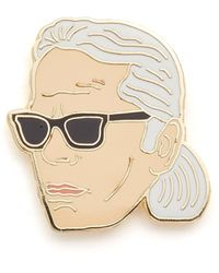 Georgia Perry - Karl Lagerfeld Pin - Lyst