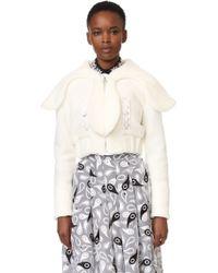 Holly Fulton - Janet Faux Fur Jacket - Lyst