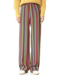 Holly Fulton - Striped Trousers - Lyst