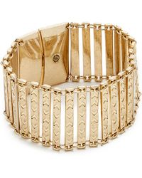 House of Harlow 1960 - Iconic Etched Bracelet - Lyst