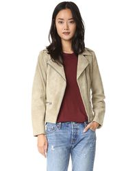 Just Female - Direct Suede Jacket - Lyst