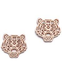 KENZO | Mini Tiger Earrings | Lyst