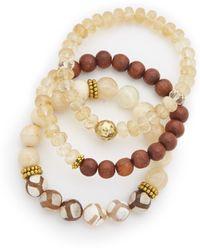 Lacey Ryan - Yellow Triple Bracelet Set - Lyst