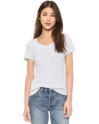 The Lady & The Sailor - Basic Scoop Tee - Lyst