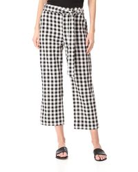 The Lady & The Sailor - Tie Trousers - Lyst