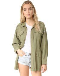 LoveShackFancy - Army Jacket - Lyst