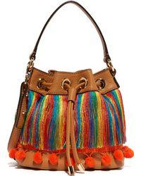 MILLY - Pom Pom Bucket Bag - Lyst