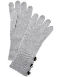 Marc Jacobs | Embellished Cashmere Gloves | Lyst