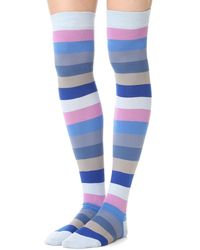 Marc Jacobs - High Leg Socks - Lyst