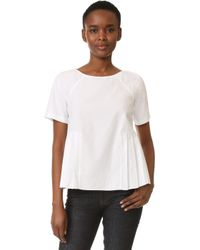 M.Patmos - Clement Pleated Top - Lyst