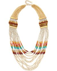 Nakamol - Rachel Statement Necklace - Lyst