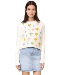Olympia Le-Tan - Bloomers Sweatshirt - Lyst
