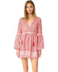 One By - Dara Babydoll Tunic Dress - Lyst