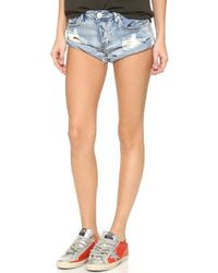 One Teaspoon - Hendrix Bandit Shorts - Lyst