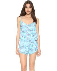 Paloma Blue - Malibu Playsuit - Lyst