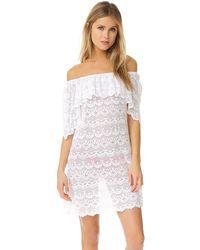 Peixoto - Santorini Lace Dress - Lyst