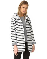 Petit Bateau - Fiona Button Hoodie Raincoat - Lyst