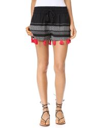 Piper - Tassle Shorts - Lyst
