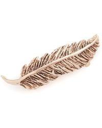 Pluie - Petite Feather Barrette - Lyst