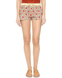 Raga - Flower Garden Shorts - Lyst