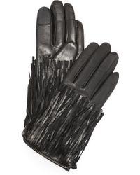 Rebecca Minkoff - Fringe Texting Gloves - Lyst
