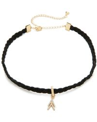 Rebecca Minkoff - Arrows Choker Necklace - Lyst