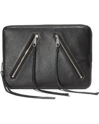 Rebecca Minkoff | Double Zip Laptop Sleeve | Lyst