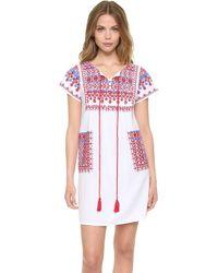 Star Mela - Lina Embroidered Dress - Lyst