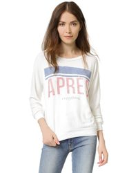 Sol Angeles - Apres Pullover - Lyst