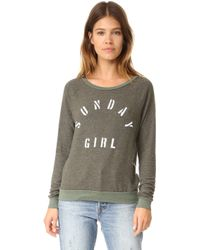 Sol Angeles - Sunday Girl Pullover - Lyst