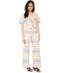 Solid & Striped - The Tie Jumpsuit - Lyst