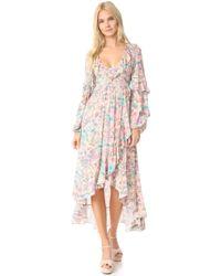 Spell - Sayulita Frill Gown - Lyst