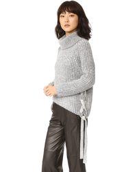 StyleStalker - Hart Turtleneck Knit - Lyst