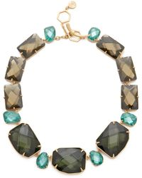 Tory Burch - Stone Statement Necklace - Lyst