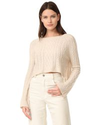 ThePerfext - Cashmere Cable Sweater - Lyst