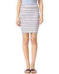 Velvet - Kipp Skirt - Lyst