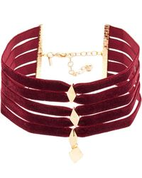 Vanessa Mooney - The Delilah Choker Necklace - Lyst