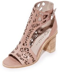 Zero + Maria Cornejo - Faas Cutout Ankle Boots - Lyst