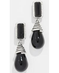 Marc Jacobs - Double Drop Earrings - Lyst