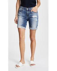 AG Jeans - The Nikki Shorts - Lyst